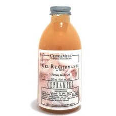 Gel reafirmante de miel con menta cepramiel