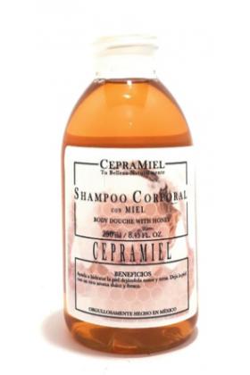 Shampoo corporal de miel